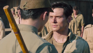 "The relationship that develops between Louie Zamperini and his sadistic torturer lies at the heart of ""Unbroken."""